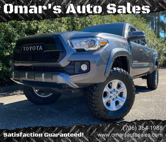 2017 Toyota Tacoma for sale at Omar's Auto Sales in Martinez GA