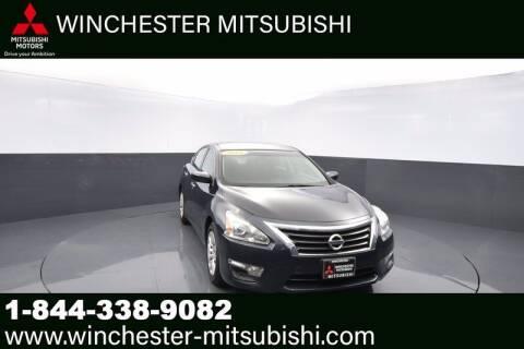2015 Nissan Altima for sale at Winchester Mitsubishi in Winchester VA