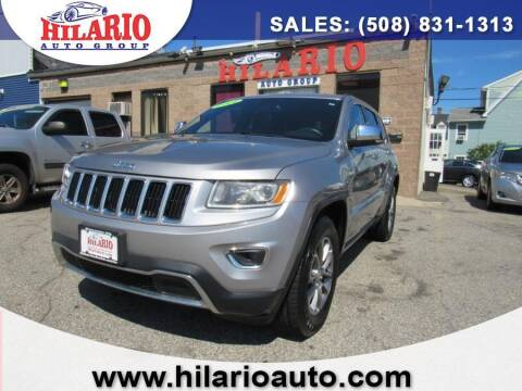 2014 Jeep Grand Cherokee for sale at Hilario's Auto Sales in Worcester MA