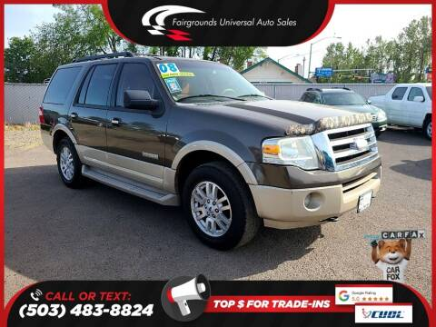 2008 Ford Expedition for sale at Universal Auto Sales in Salem OR