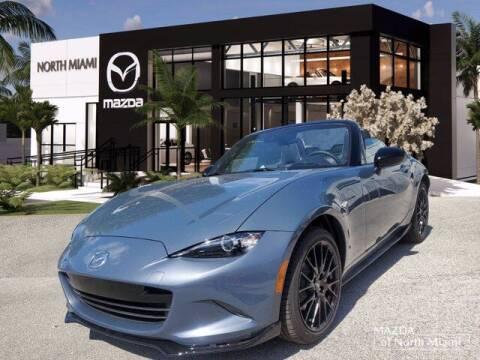 2021 Mazda MX-5 Miata for sale at Mazda of North Miami in Miami FL