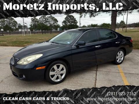2005 Lexus ES 330 for sale at Moretz Imports, LLC in Spring TX