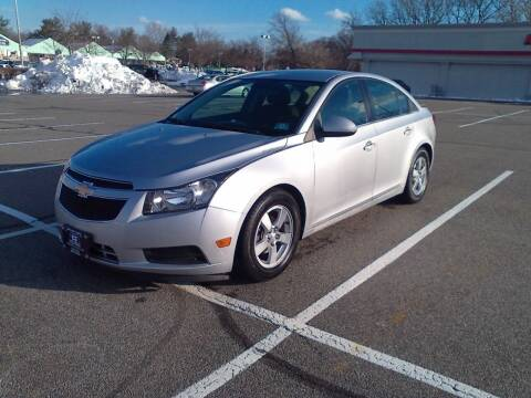 2013 Chevrolet Cruze for sale at B&B Auto LLC in Union NJ