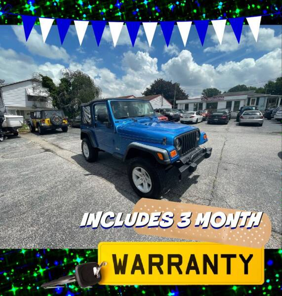 2003 Jeep Wrangler for sale at LAUER BROTHERS AUTO SALES in Dover PA