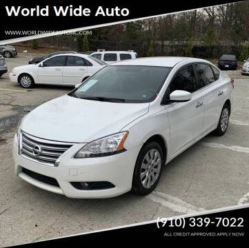 2013 Nissan Sentra for sale at World Wide Auto in Fayetteville NC