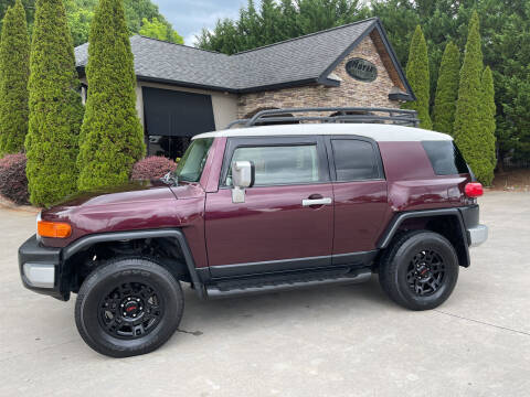 2007 Toyota FJ Cruiser for sale at Hoyle Auto Sales in Taylorsville NC