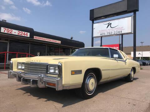 1978 Cadillac Eldorado Biarritz for sale at NORRIS AUTO SALES in Oklahoma City OK