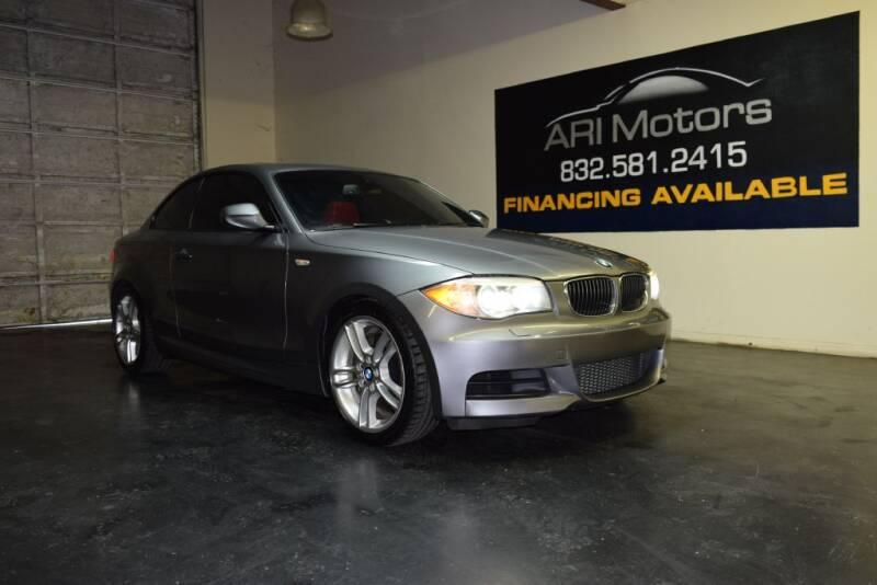 2012 BMW 1 Series for sale at ARI Motors in Houston TX