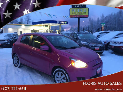 2015 Mitsubishi Mirage for sale at FLORIS AUTO SALES in Anchorage AK