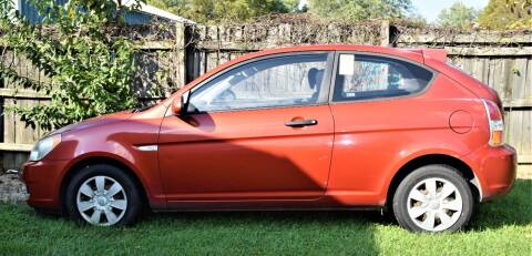 2007 Hyundai Accent for sale at PINNACLE ROAD AUTOMOTIVE LLC in Moraine OH