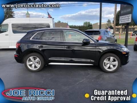 2018 Audi Q5 for sale at JOE RICCI AUTOMOTIVE in Clinton Township MI