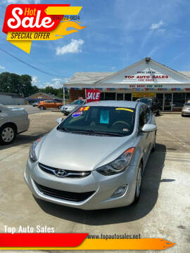 2012 Hyundai Elantra for sale at Top Auto Sales in Petersburg VA