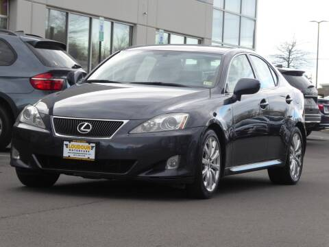 2008 Lexus IS 250 for sale at Loudoun Used Cars - LOUDOUN MOTOR CARS in Chantilly VA
