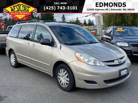 2008 Toyota Sienna for sale at West Coast Auto Works in Edmonds WA