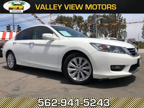2014 Honda Accord for sale at Valley View Motors in Whittier CA