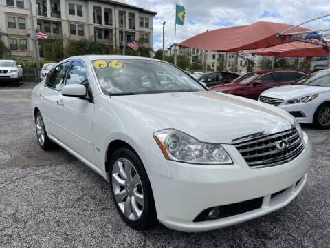 2006 Infiniti M35 for sale at Brascar Auto Sales in Pompano Beach FL