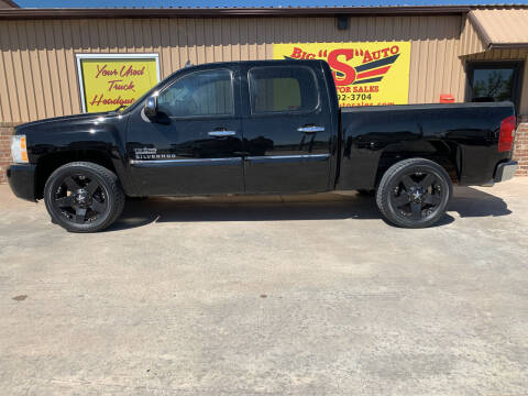 2009 Chevrolet Silverado 1500 for sale at BIG 'S' AUTO & TRACTOR SALES in Blanchard OK