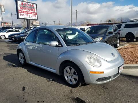 2007 Volkswagen New Beetle for sale at ATLAS MOTORS INC in Salt Lake City UT