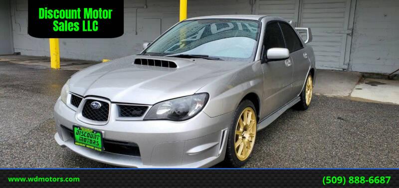 2007 Subaru Impreza for sale at Discount Motor Sales LLC in Wenatchee WA