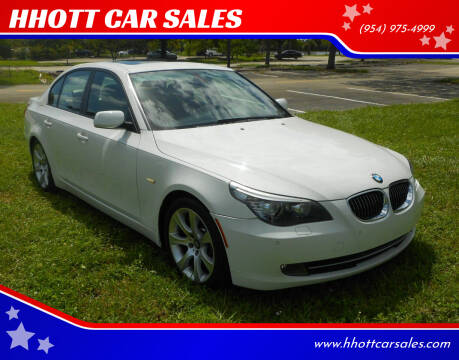 2009 BMW 5 Series for sale at HHOTT CAR SALES in Deerfield Beach FL
