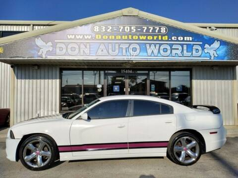 2012 Dodge Charger for sale at Don Auto World in Houston TX