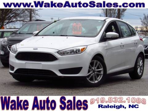 2016 Ford Focus for sale at Wake Auto Sales Inc in Raleigh NC
