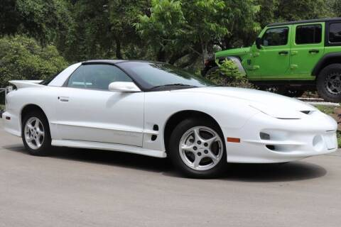 1999 Pontiac Firebird for sale at SELECT JEEPS INC in League City TX
