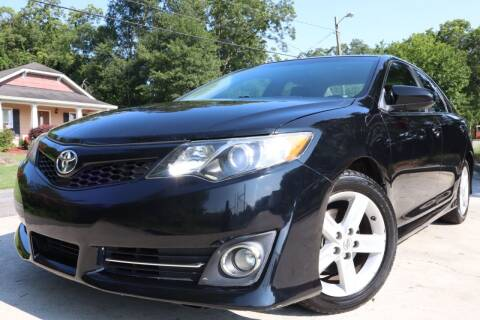 2012 Toyota Camry for sale at Cobb Luxury Cars in Marietta GA