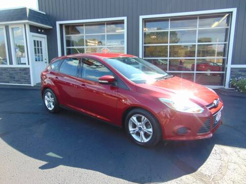 2014 Ford Focus for sale at Akron Auto Sales in Akron OH
