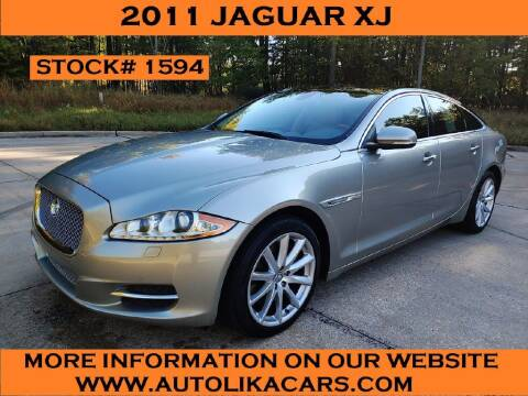 2011 Jaguar XJ for sale at Autolika Cars LLC in North Royalton OH
