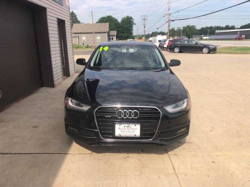 2014 Audi A4 for sale at Auto Import Specialist LLC in South Bend IN