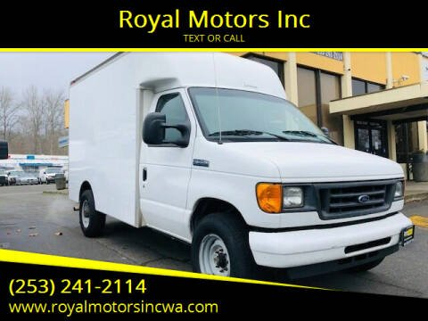 2007 Ford E-Series Chassis for sale at Royal Motors Inc in Kent WA