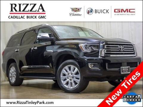 2018 Toyota Sequoia for sale at Rizza Buick GMC Cadillac in Tinley Park IL