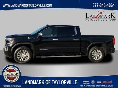 2021 GMC Sierra 1500 for sale at LANDMARK OF TAYLORVILLE in Taylorville IL