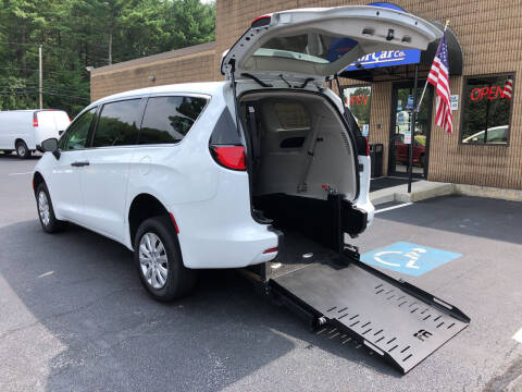 2020 Chrysler Voyager for sale at CJ Clark's New England Motor Car Company in Hudson NH