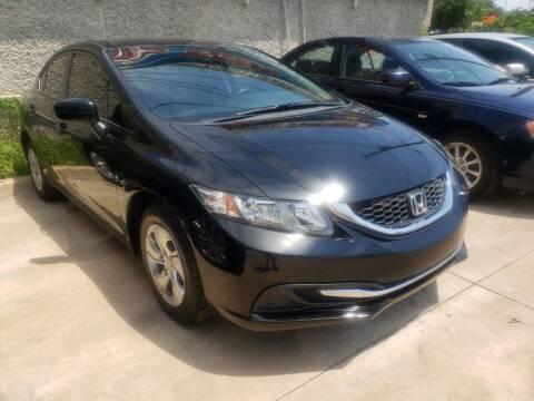2015 Honda Civic for sale at Best Royal Car Sales in Dallas TX
