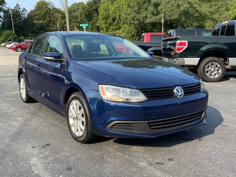 2012 Volkswagen Jetta for sale at Luxury Auto Innovations in Flowery Branch GA