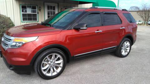 2013 Ford Explorer for sale at Haigler Motors Inc in Tyler TX