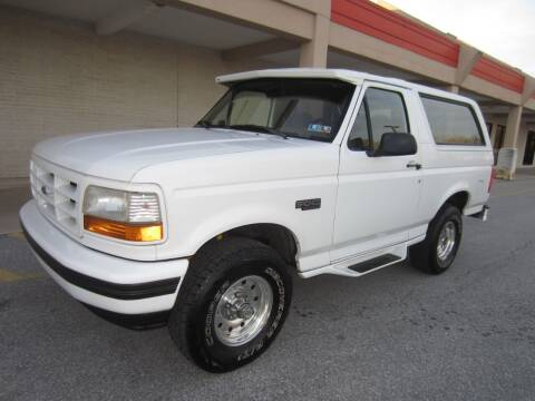 1995 Ford Bronco for sale at PRIME AUTOS OF HAGERSTOWN in Hagerstown MD
