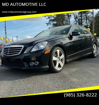 2010 Mercedes-Benz E-Class for sale at MD AUTOMOTIVE LLC in Slidell LA