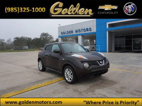 2012 Nissan JUKE for sale at GOLDEN MOTORS in Cut Off LA