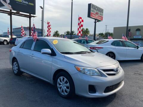 2013 Toyota Corolla for sale at MACHADO AUTO SALES in Miami FL