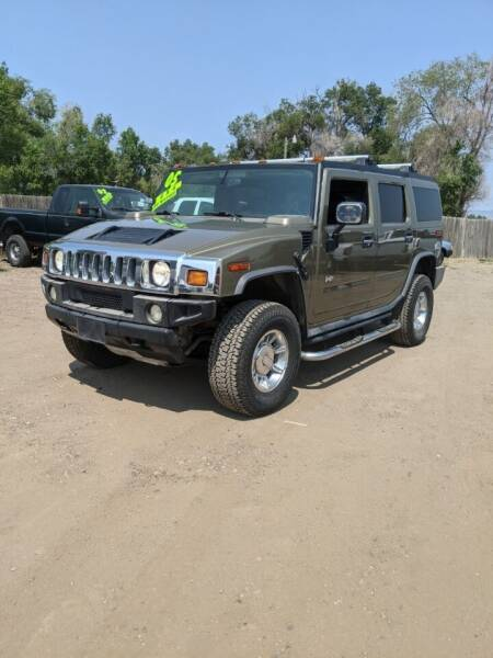 2005 HUMMER H2 for sale at HORSEPOWER AUTO BROKERS in Fort Collins CO
