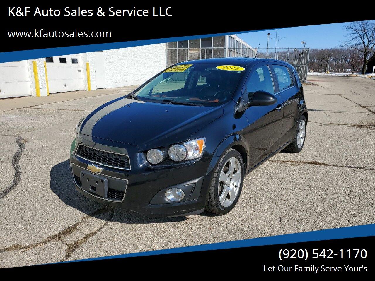 2012 Chevrolet Sonic LTZ 1LZ Hatchback FWD