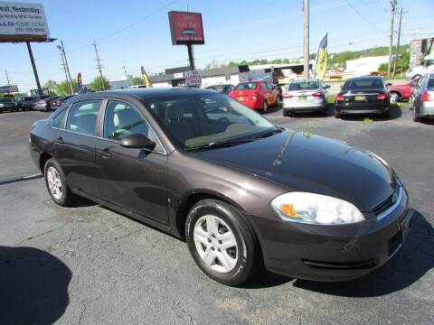 2008 Chevrolet Impala for sale at MIRA AUTO SALES in Cincinnati OH