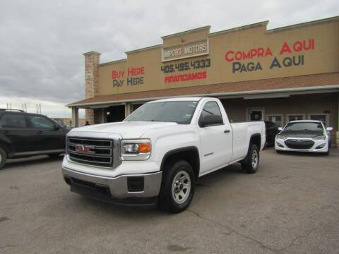 2015 GMC Sierra 1500 for sale at Import Motors in Bethany OK