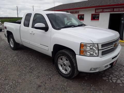 2013 Chevrolet Silverado 1500 for sale at Sarpy County Motors in Springfield NE