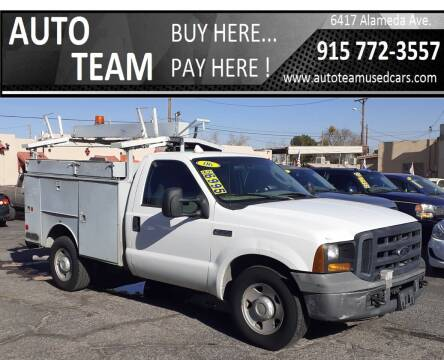 2006 Ford F-350 Super Duty for sale at AUTO TEAM in El Paso TX