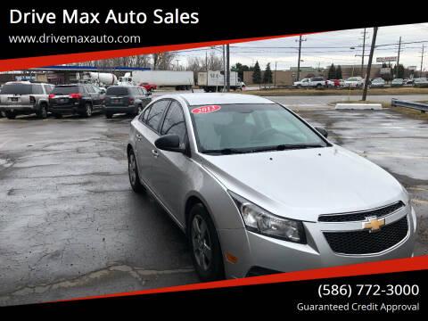 2013 Chevrolet Cruze for sale at Drive Max Auto Sales in Warren MI
