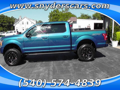 2018 Ford F-150 for sale at Snyders Auto Sales in Harrisonburg VA